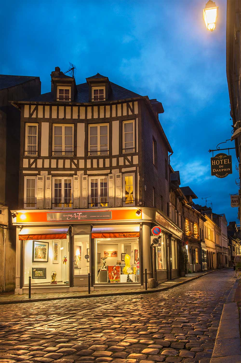 Art Gallery Honfleur France