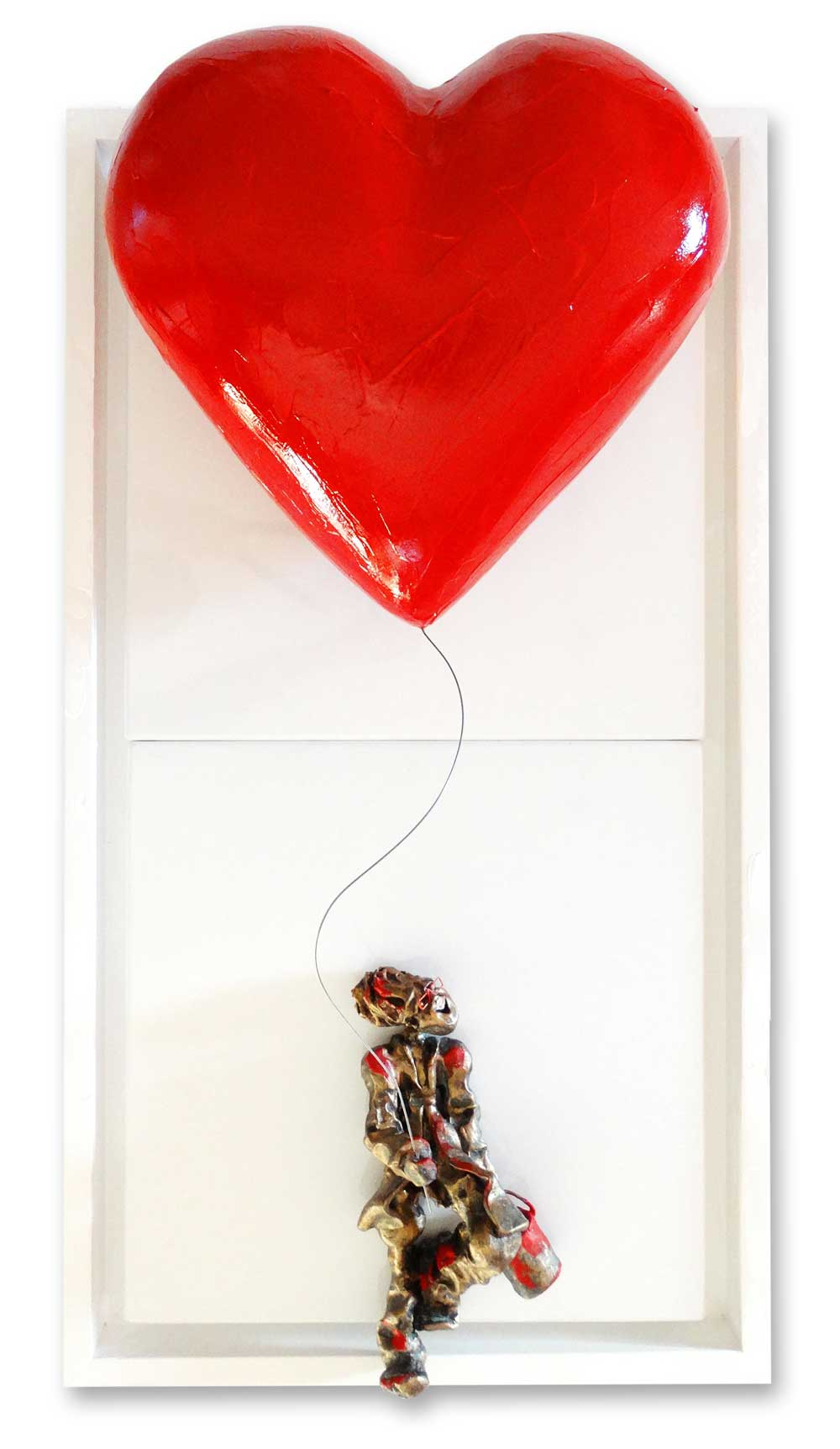 Bernard Saint Maxent - Big Love Balloon - 40x80cm