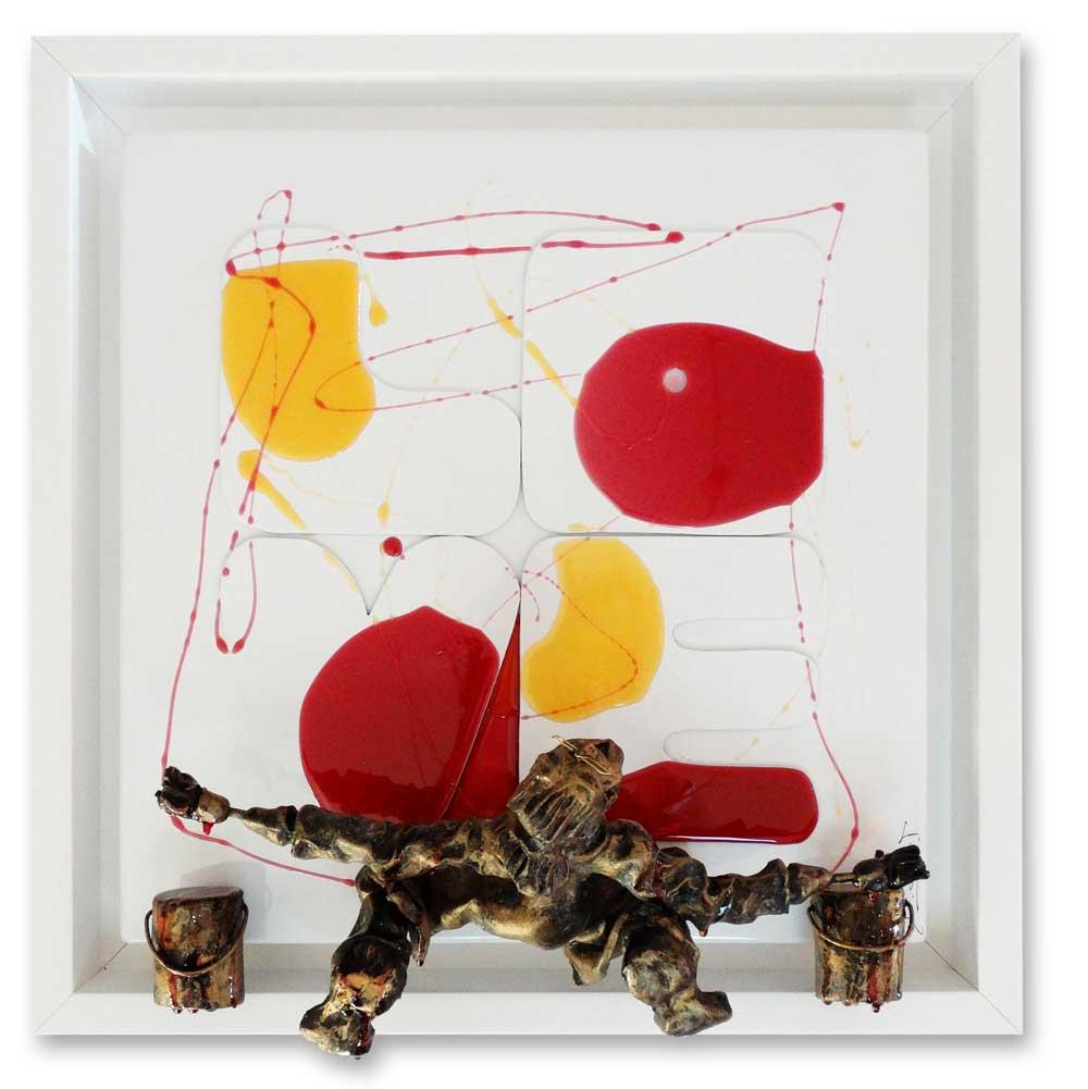 Bernard Saint Maxent - Glossy Love - 40x40cm