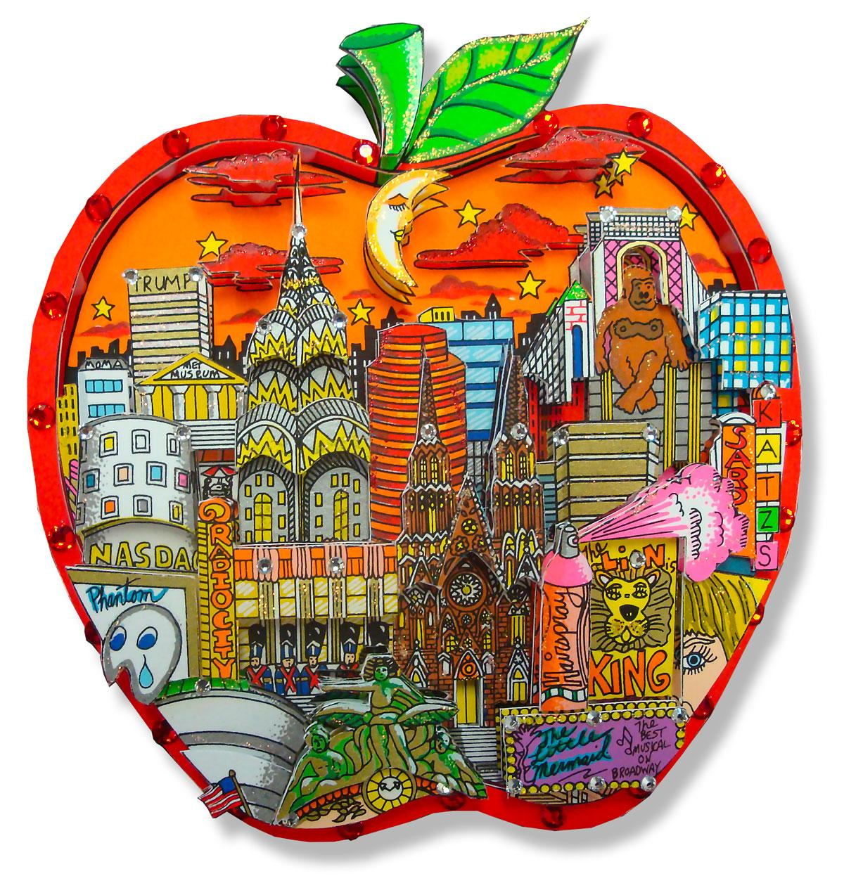 CHARLES FAZZINO - Apple-ly yours