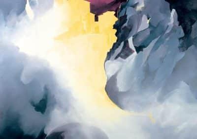 Poster: Saorge - Lumières