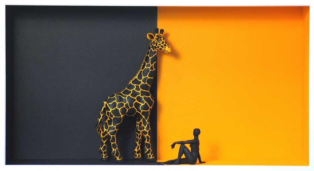 Volker Kühn - Africa - Art in Boxes