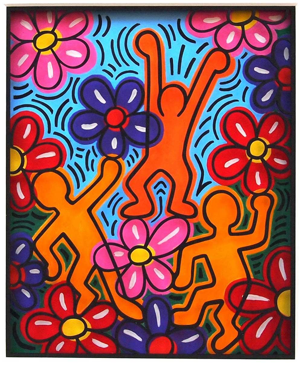 Volker Kühn - The-Garden-of-Keith-Haring - Art in Boxes