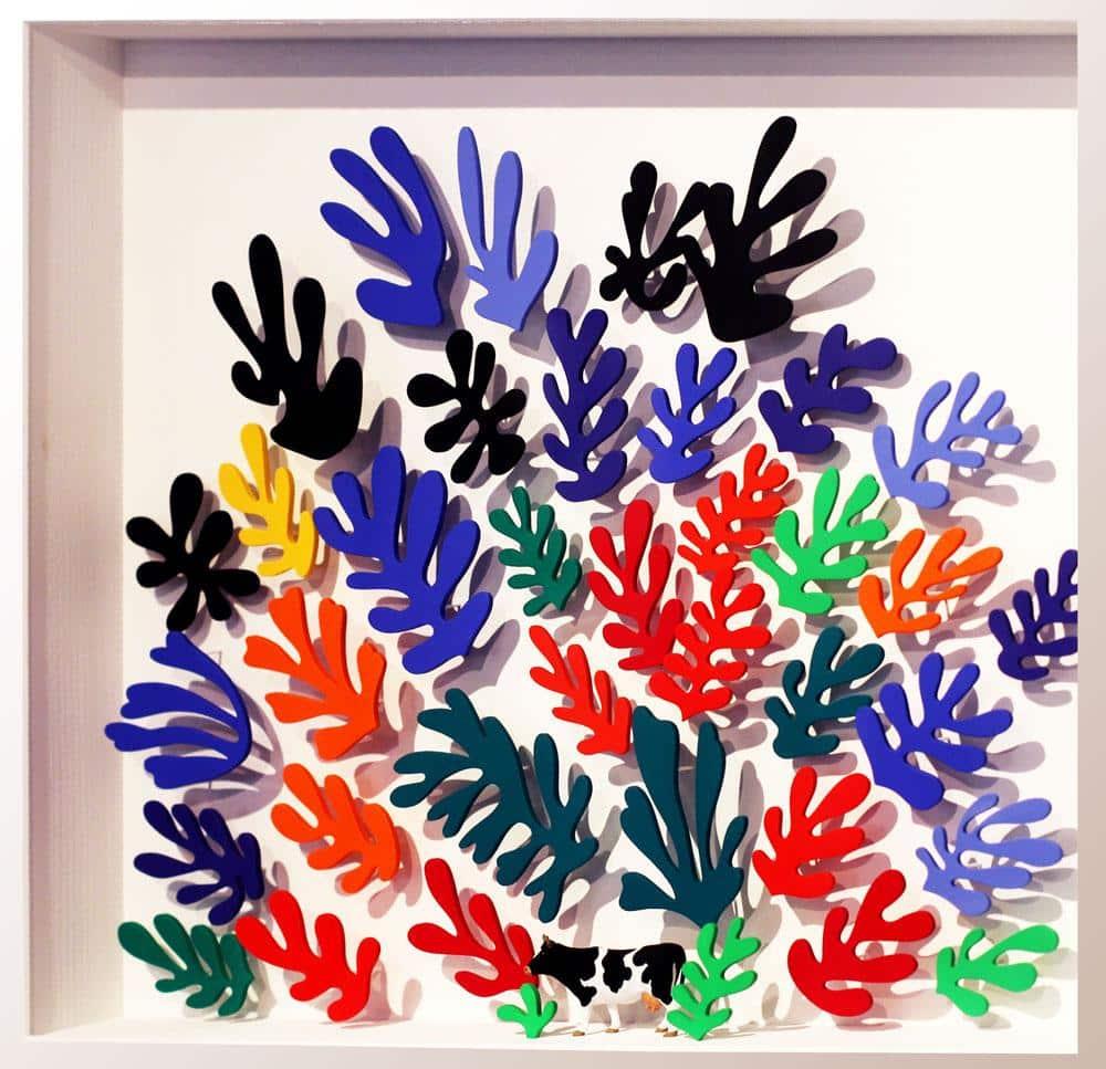 Volker Kühn - hommage à Matisse - Art in Boxes