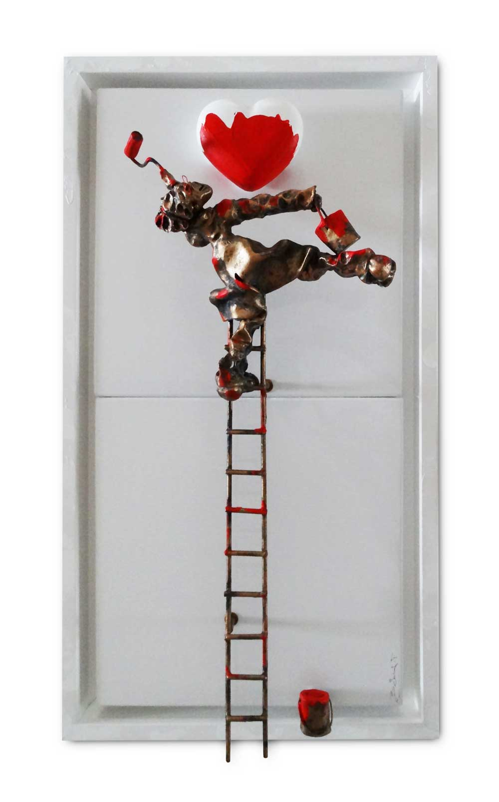 Bernard Saint Maxent - Rodrigue - 40x80cm