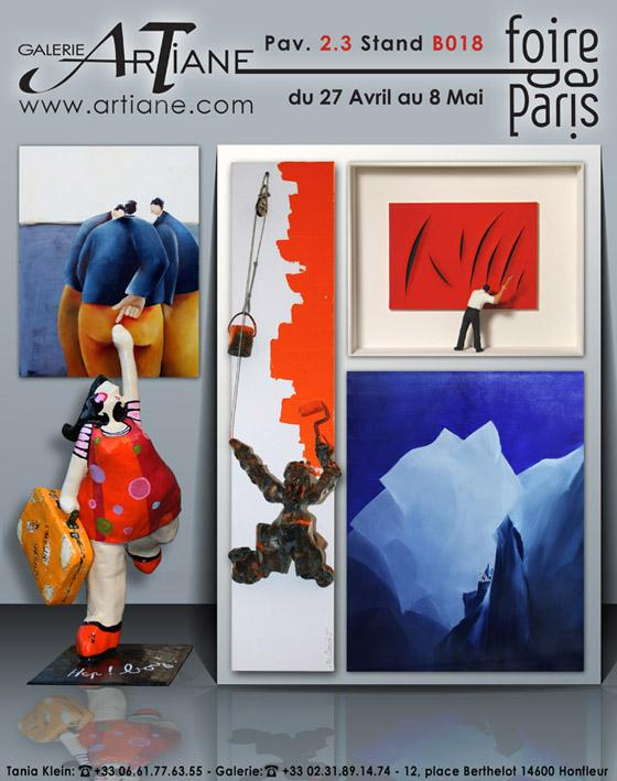 foire de paris du 27 avril au 8 mai artiane galerie d. Black Bedroom Furniture Sets. Home Design Ideas