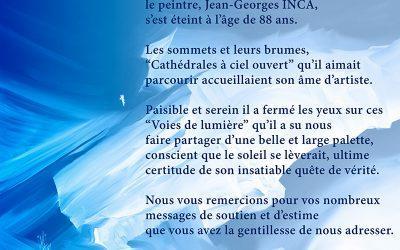 """Jean-Georges INCA a fermé les yeux sur ces """"Voies de lumière"""""""