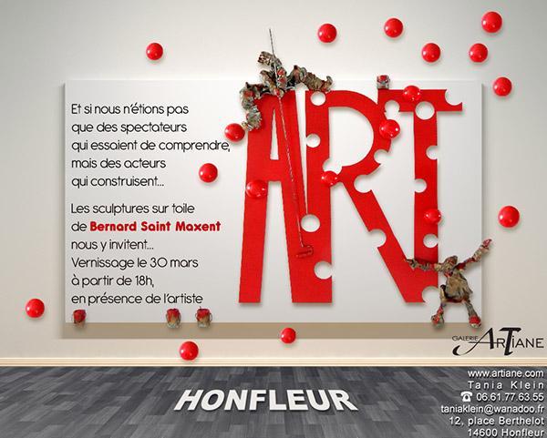 Bernard Saint Maxent, vernissage 2013