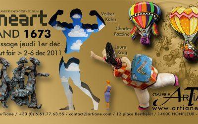 Galerie ArTiane présente à Lineart 2011