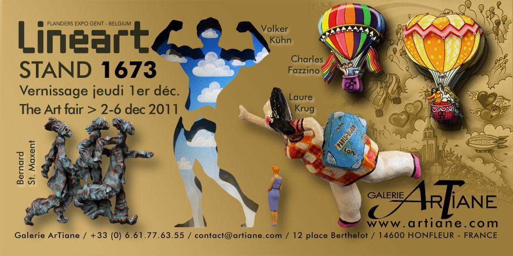 Artiane @ Linéart Belgique artfair