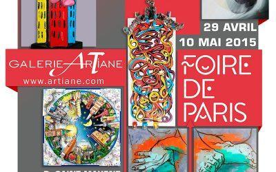 Galerie Artiane Foire de Paris 2015!