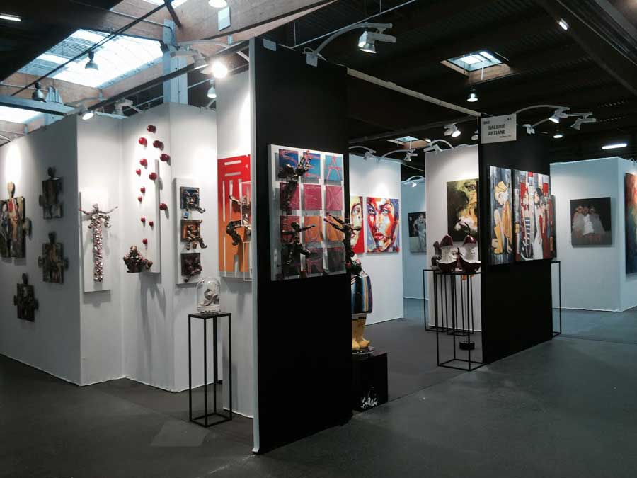 Salon d 39 art contemporain art3f paris 2015 les photos - Salon art contemporain paris ...