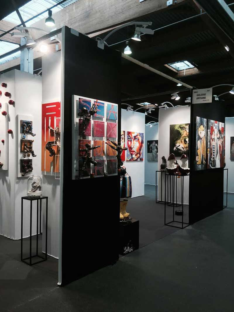 salon d 39 art contemporain art3f paris 2015 les photos