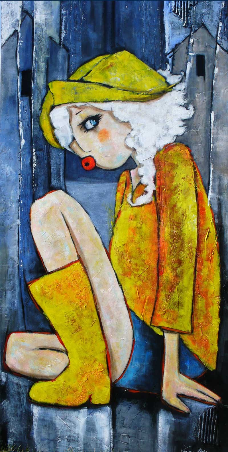 Peinture Bretonne Contemporaine Normande Virginie Matz
