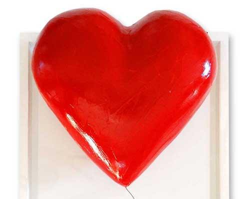 Un mot en relief pour fêter l'amour?