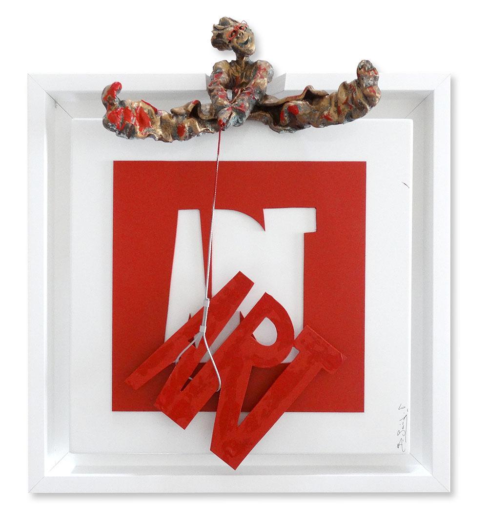 Bernard Saint Maxent - Art puzzle - 50x50cm