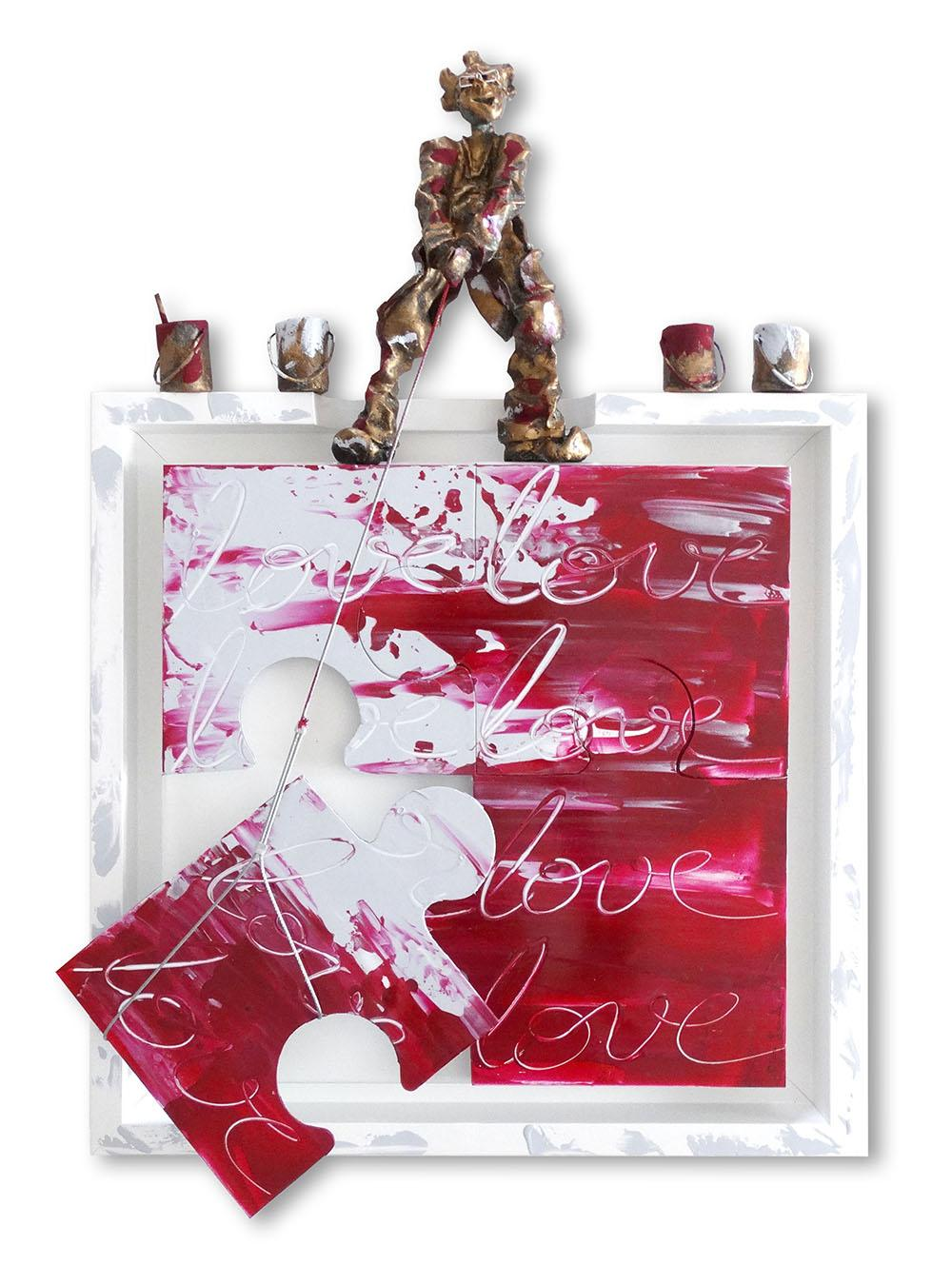 Bernard Saint Maxent - Assemblove - 50x50cm
