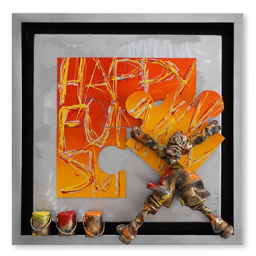 Bernard Saint Maxent - Happy funny - 50x50cm