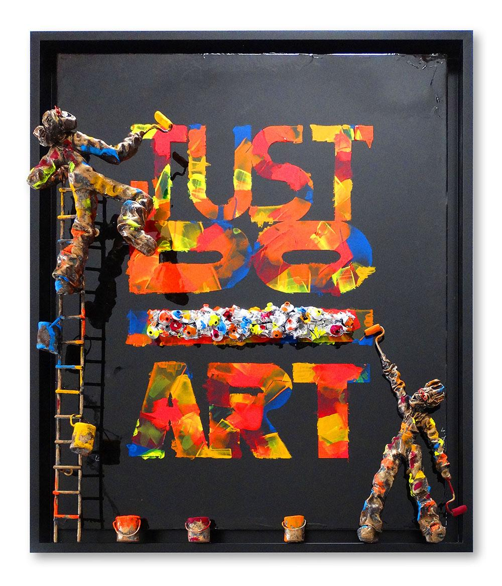 Bernard Saint Maxent - Just do - 80x100cm