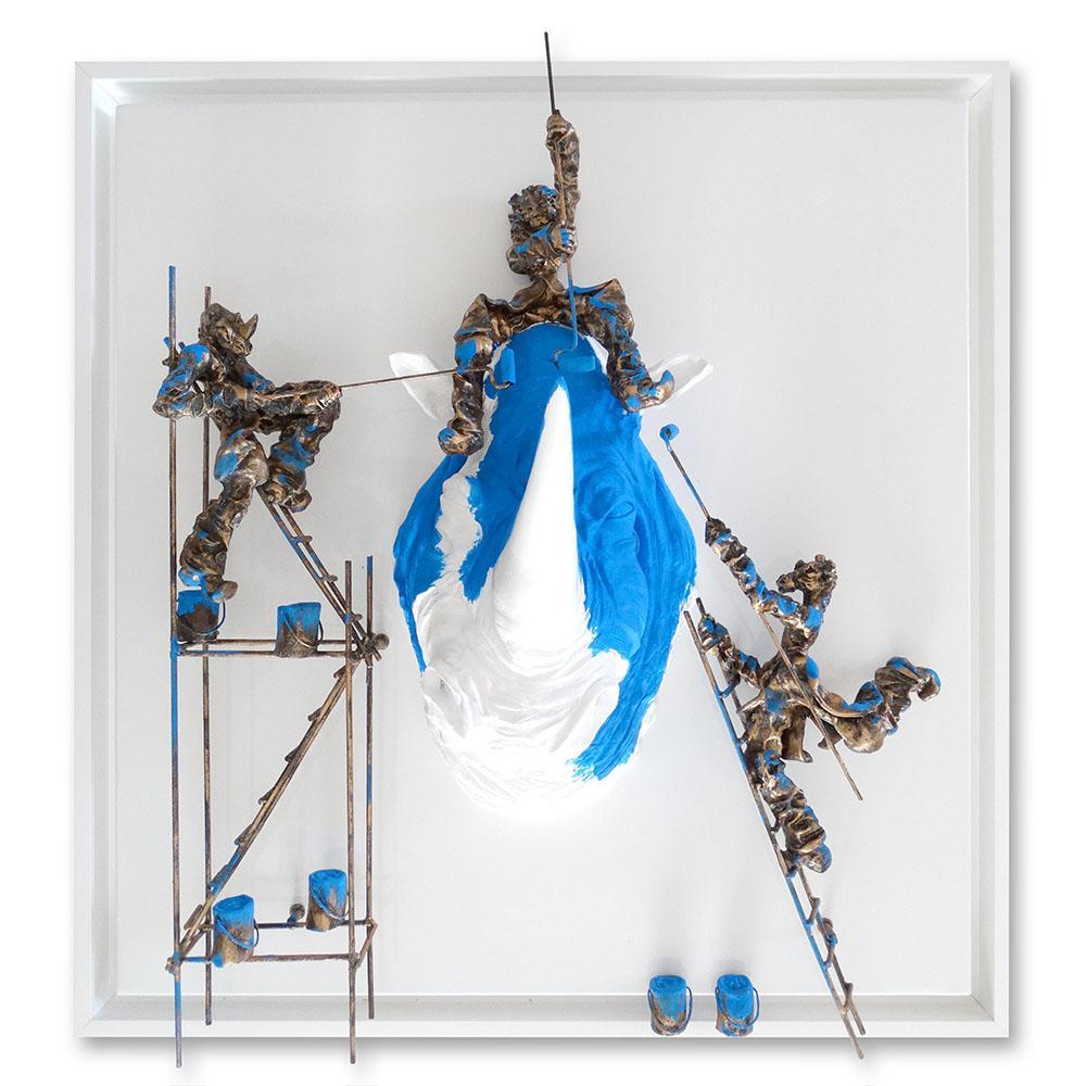 Bernard Saint Maxent - Y'a des fois - 100x100cm