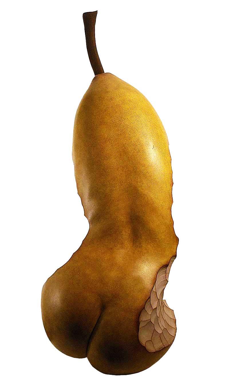 Sculpture Fruit Anthropomorphe