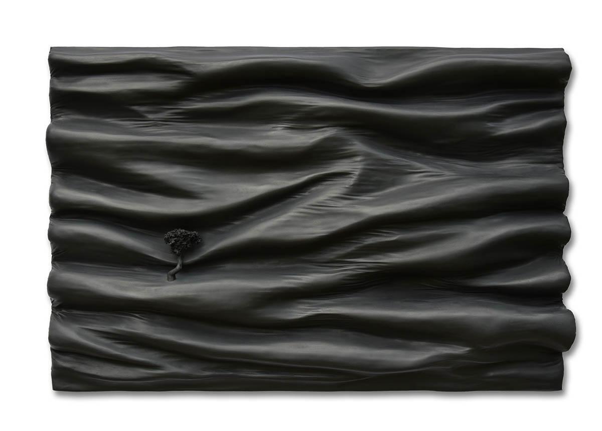 Tableaux monochromes contemporains de Didier MORERES artiste