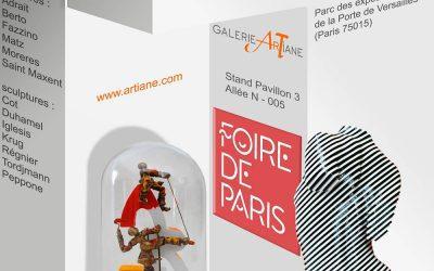 Foire de Paris Artistes exposants 2018