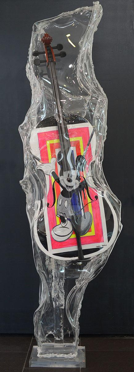 Sculpture Plexiglass Art - Franck Tordjmann